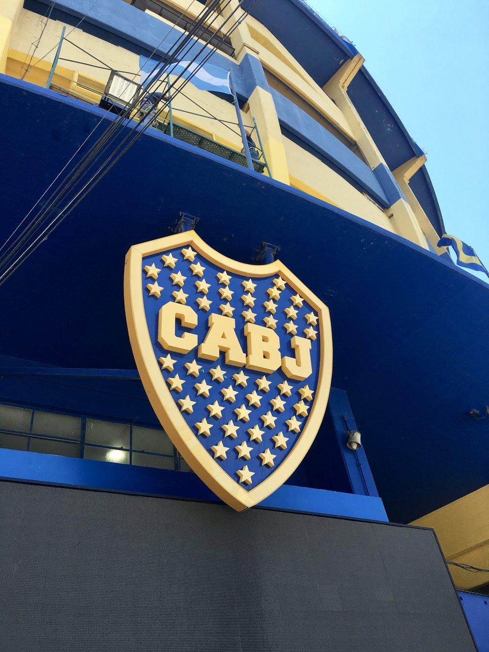 La Bombonera, home to the Boca Juniors football team ( La Boca, Buenos Aires, Argentina )