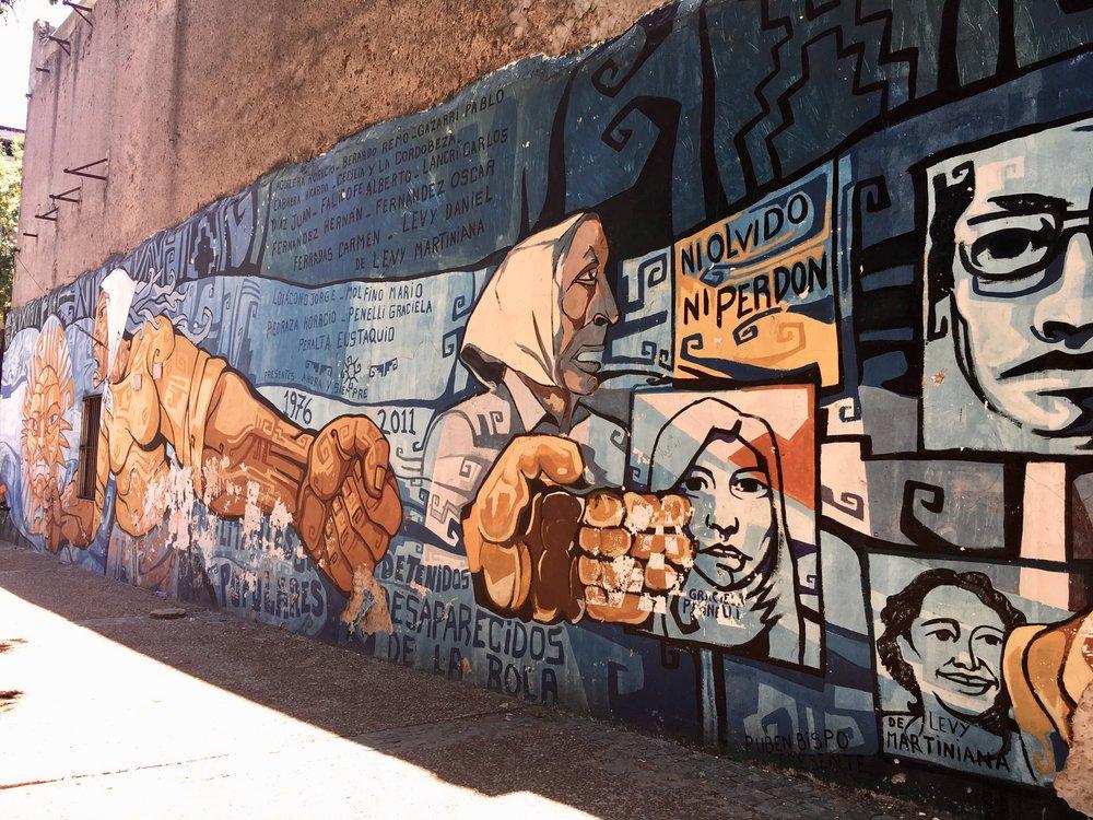 Street Art in La Boca  (Buenos Aires, Argentina )