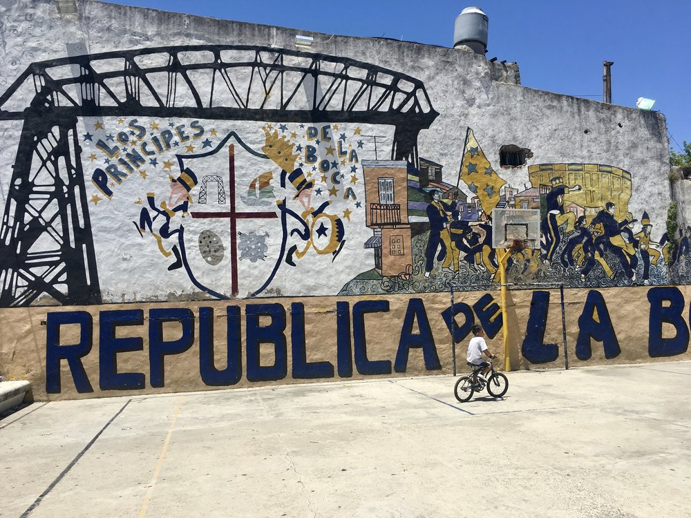 Republica de La Boca ( Buenos Aires, Argentina )