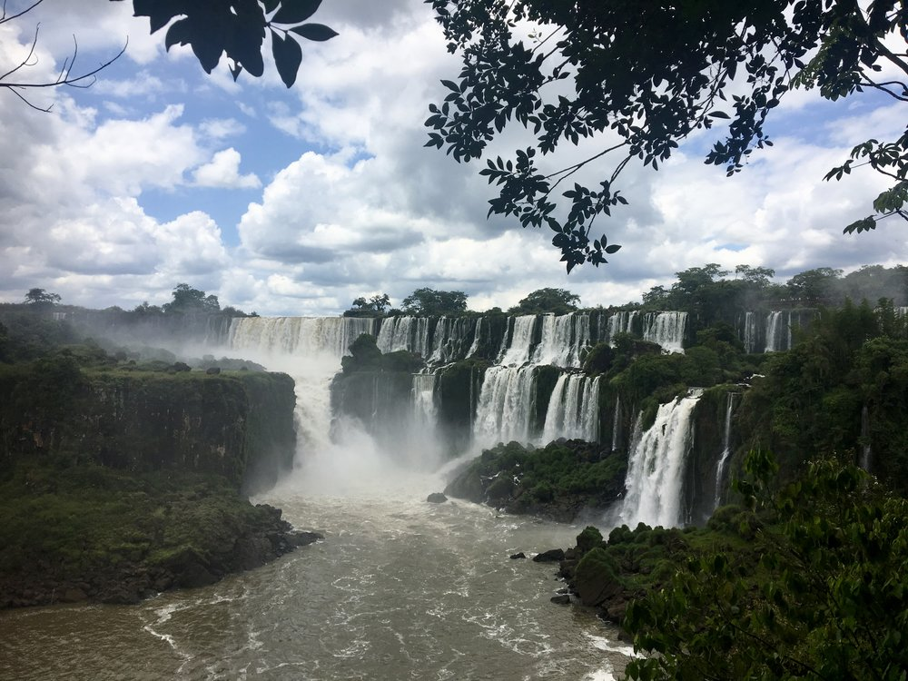 There's over 3km of waterfalls at Iguazu Falls National Park  (Argentina)