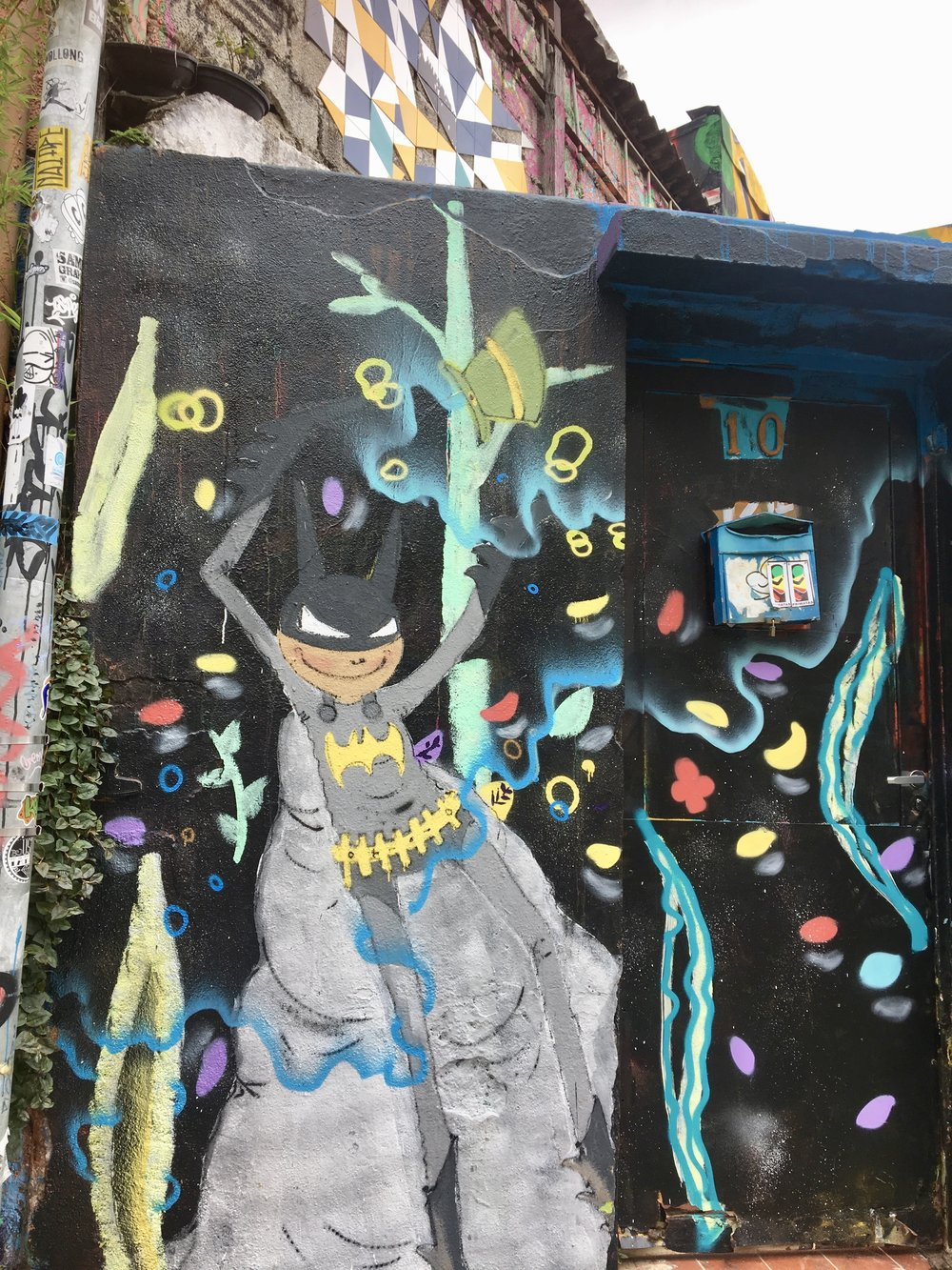 D-na-na-na-na.....Batman! ( Beco do Batman, Vila Madalena, Sao Paulo, Brazil )