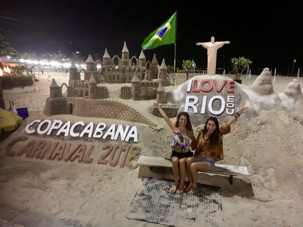 It Begins! (Copacabana Beach, Rio de Janeiro)