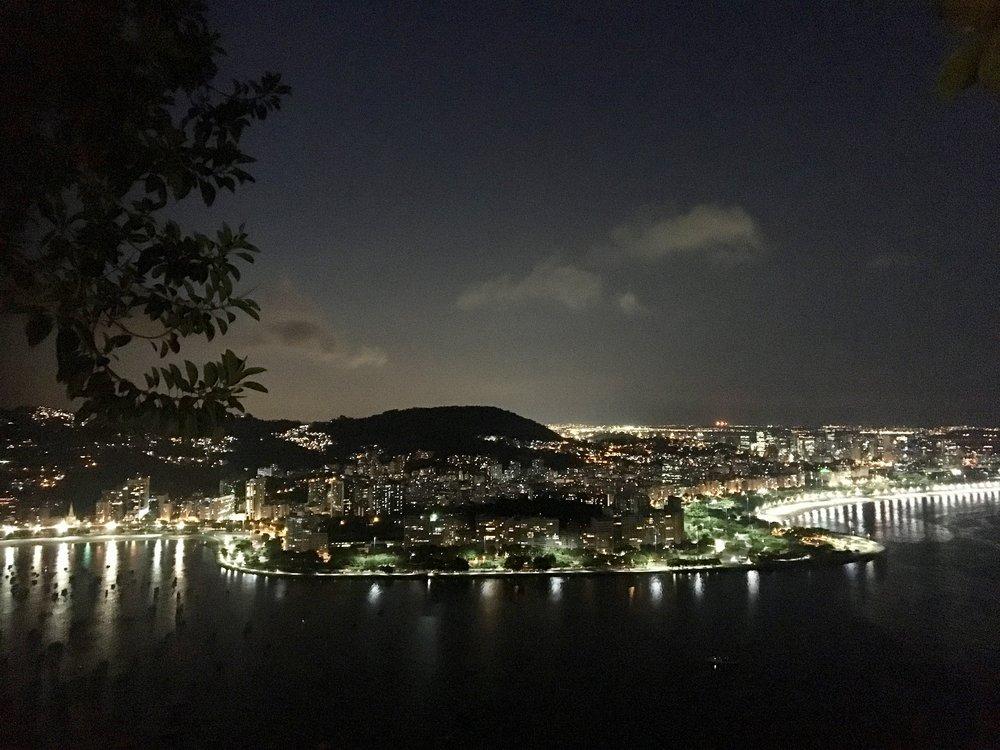 Night-time in the City ( Urca, Rio de Janeiro, Brazil )