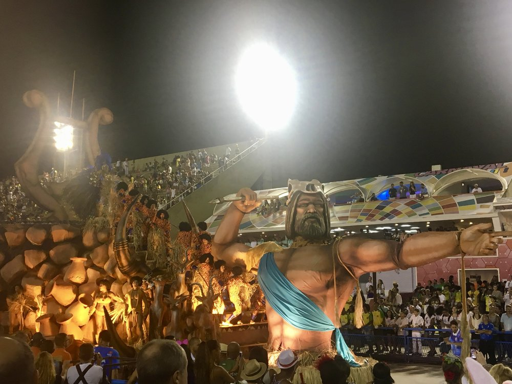 Them floats just kept on comin' ( Sambadrome, Rio de Janeiro, Carnaval 2018,Brazil)