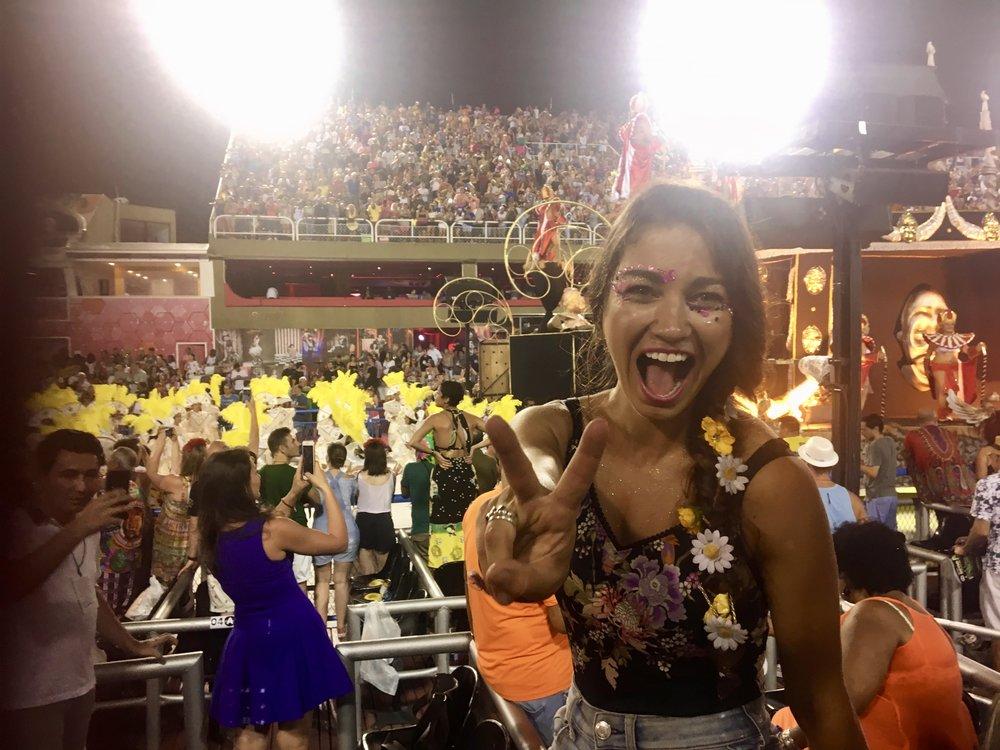It's Carnaval Baby! ( Sambadrome, Rio de Janeiro, Carnaval 2018,Brazil)