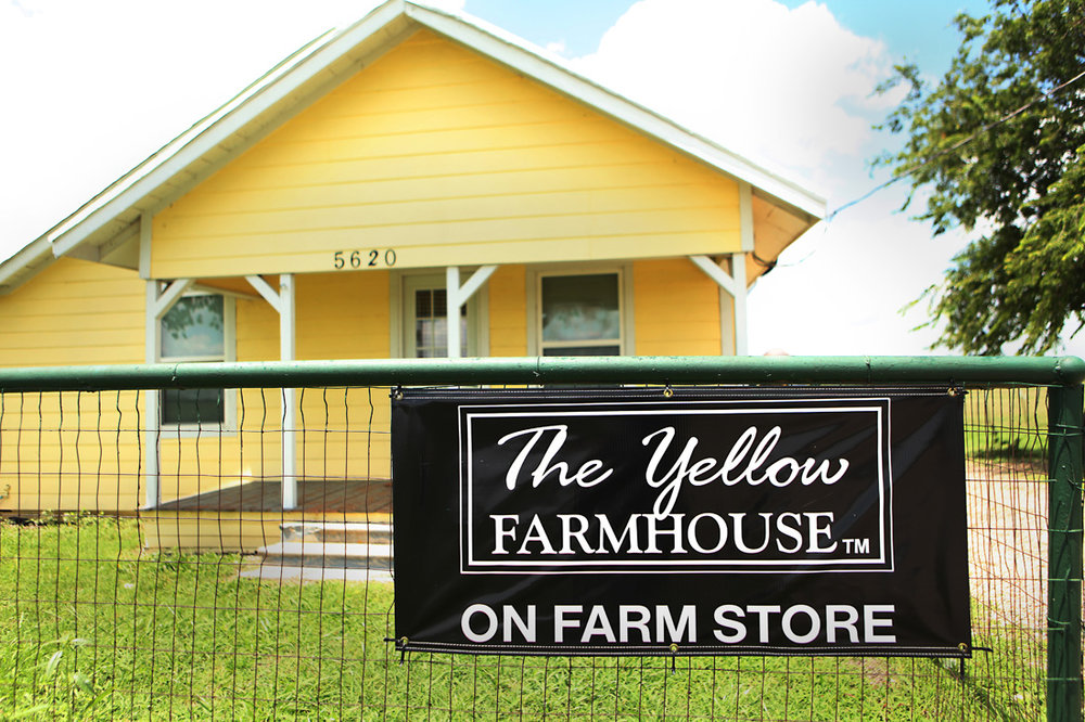 The Yellow Farmhouse