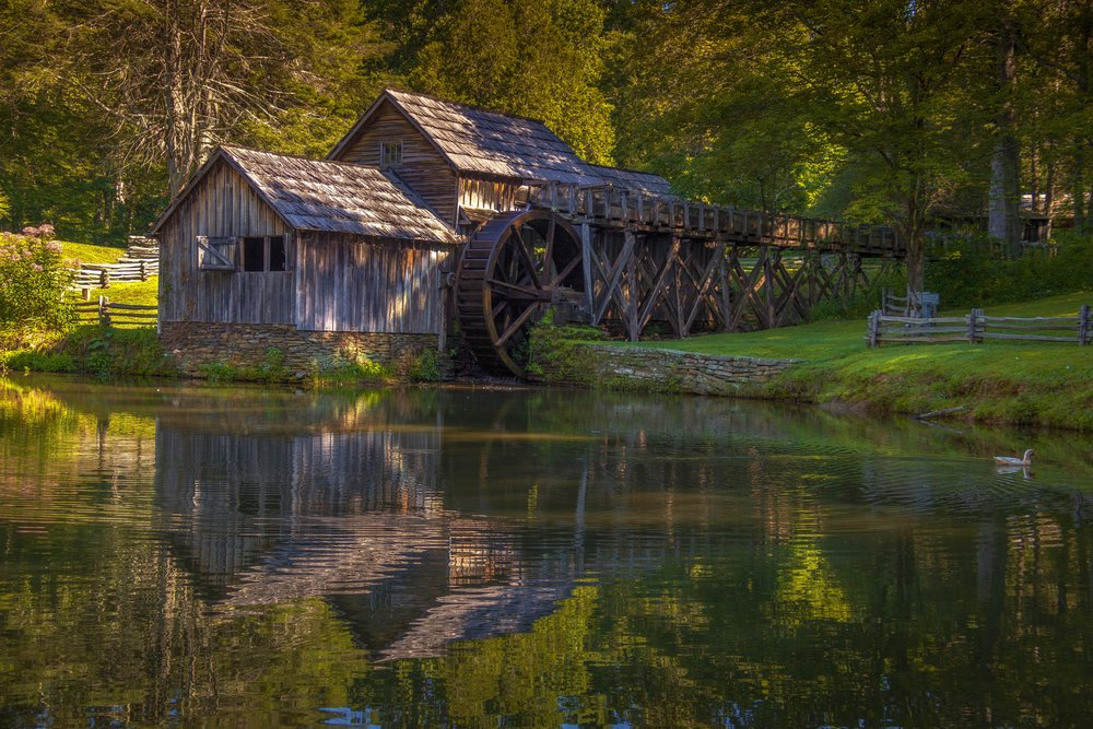 Mabry Mill HDR