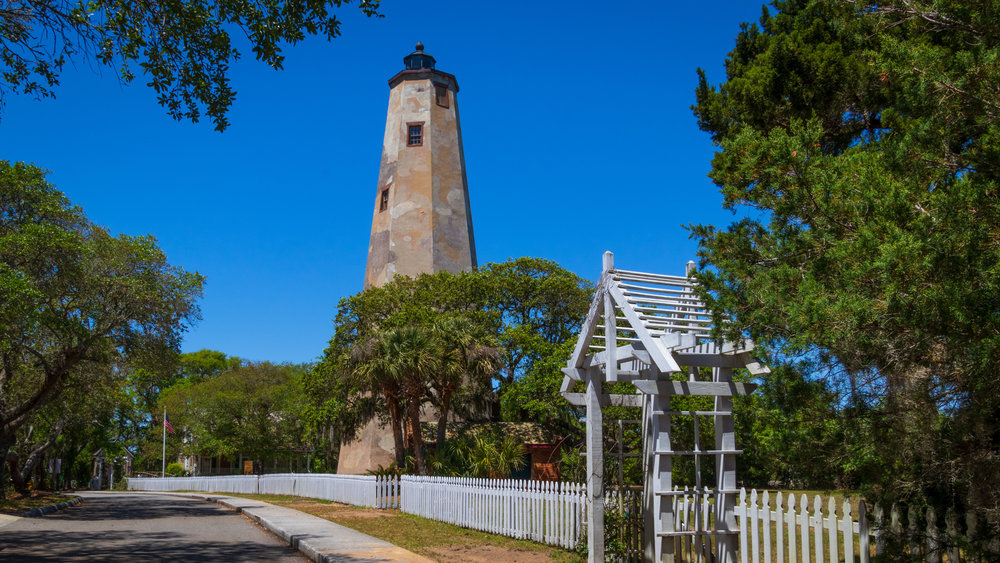 Bald Head Lighthouse on Bald Head Island