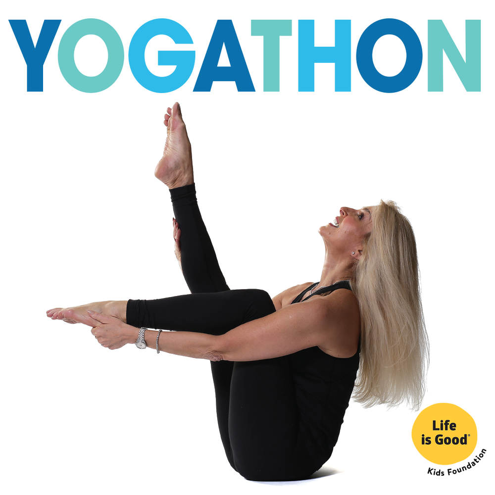 Poster Person for the Yogathon