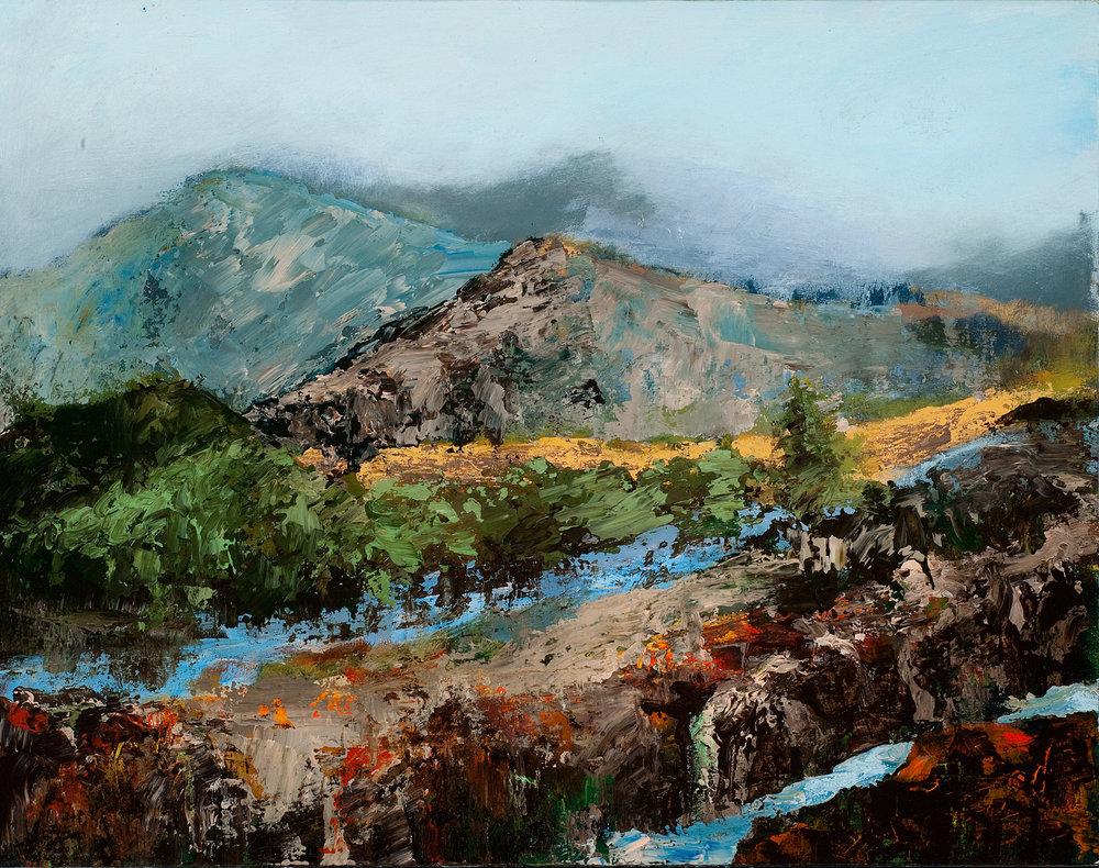 Mountain Gorge-Sold