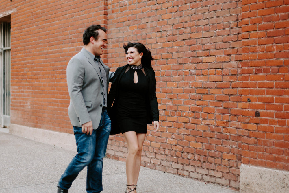 San Diego Engagement photography at Gaslamp District Downtown Urban001.jpg