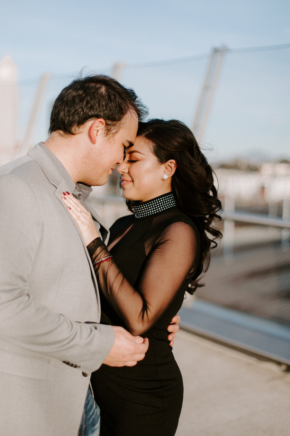 San Diego Engagement photography at Gaslamp District Downtown Urban011.jpg