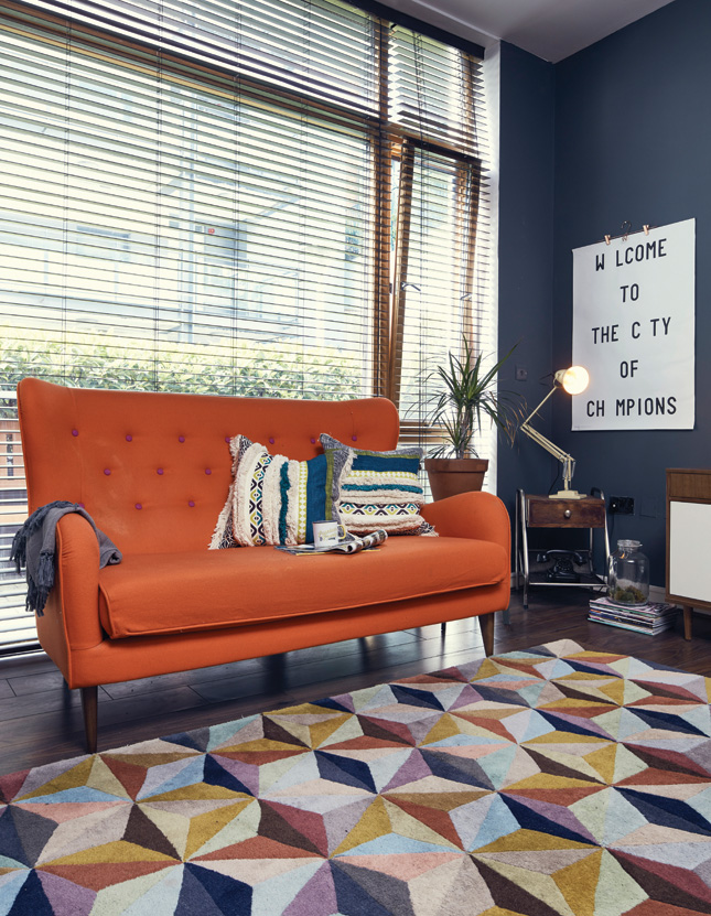 House_and_Home_home_tour_magazine_interiors_design_Paper_and_Moon_Louise_Dockery_Dublin_orange_couch.jpg