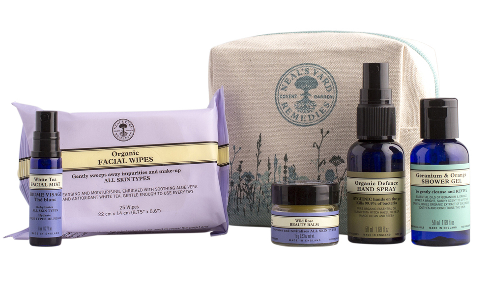 Neal's Yard Remedies travel kit , €42
