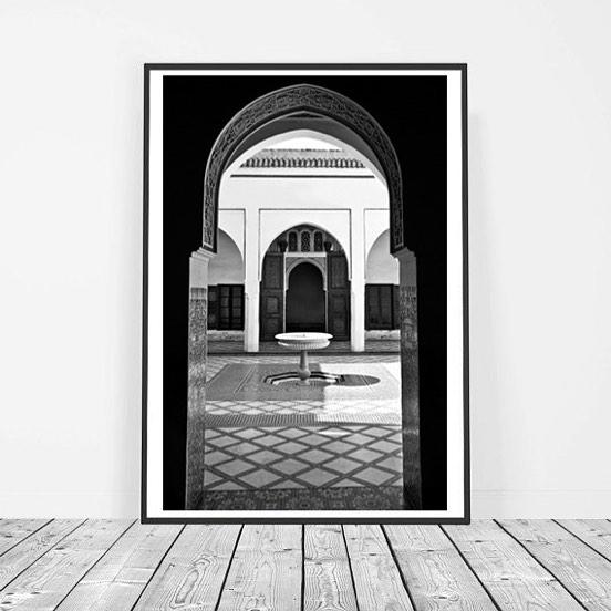 Dar Sol 'Badoor' print,  from €185