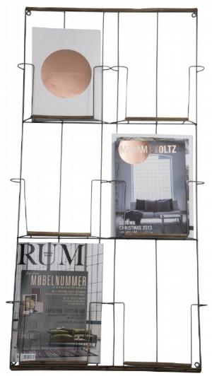 Rees & Hunt magazine rack,  €40