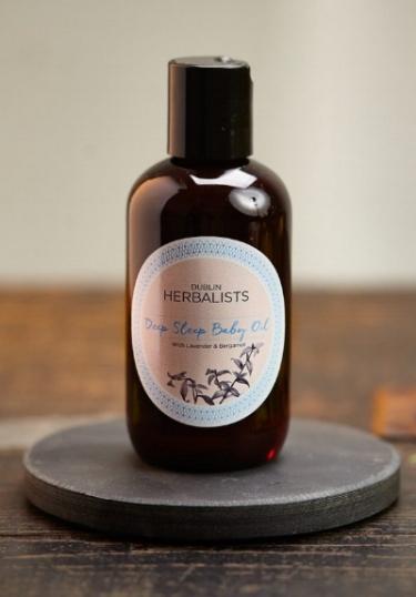 Dublin Herbalist Deep Sleep baby oil , €12.95