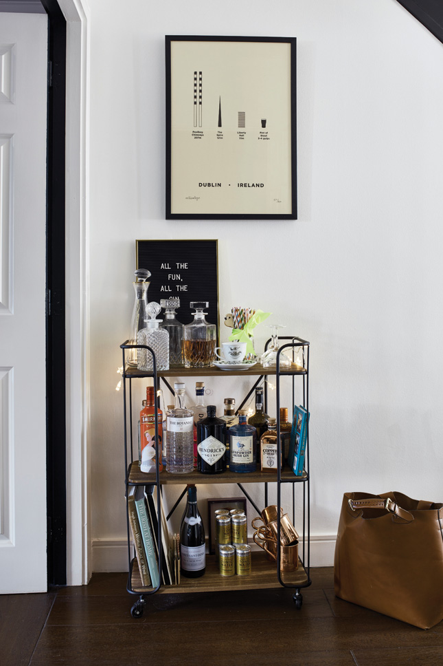 House_and_Home_Louise_Dockery_Paper_and_Moon_Dublin_Leo_and_Cici_bar_cart_trolley_gin_Sostrene_Grene_meandhimandyou.jpg