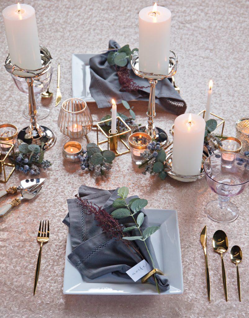 & Festive Table Setting Ideas u2014 Paper u0026 Moon