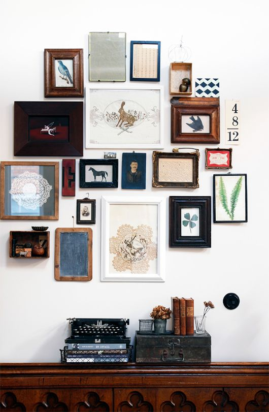The Greatness of a Gallery Wall — Paper & Moon