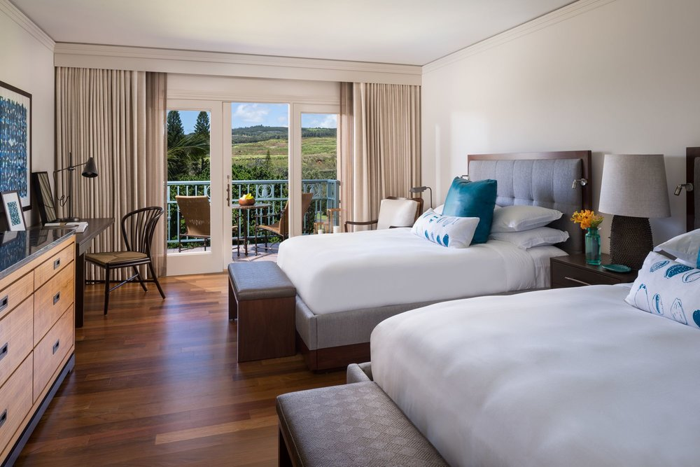 Terrace Room - Limited Resort View, 1st or 2nd floor, 440 Sq Feet, 1 King Bed or 2 Queen Beds - $239++(SOLD OUT)