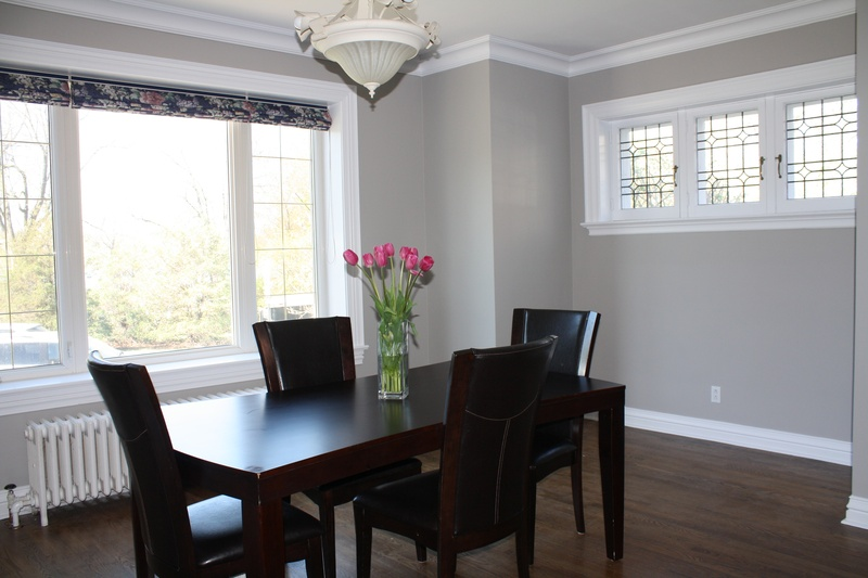 Dining room makeover project ottawa