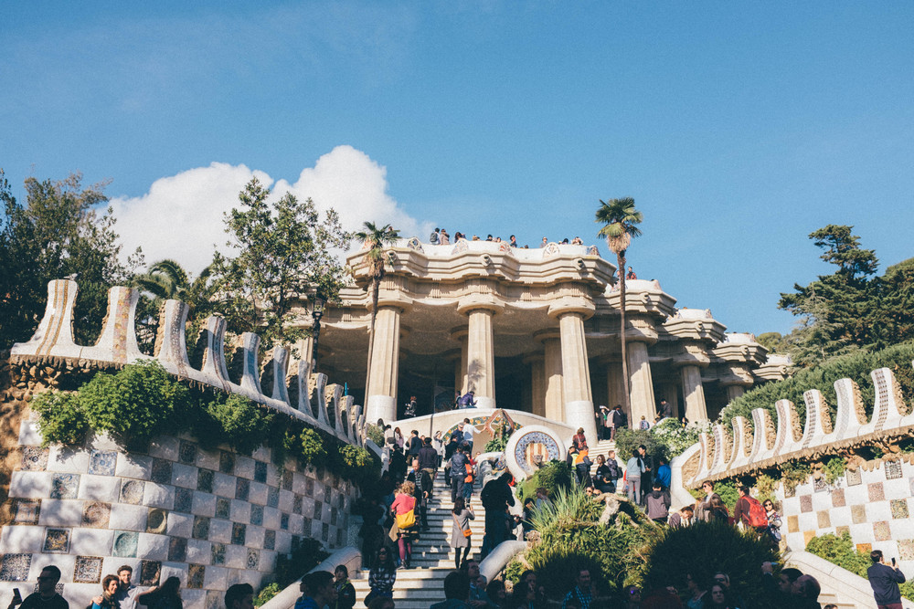 Park Güell Barcelona Spain Travel