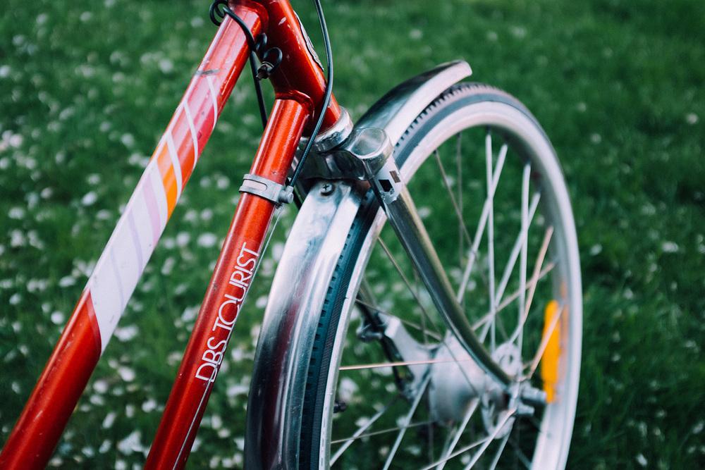 dbs sykkel retro vintage bike