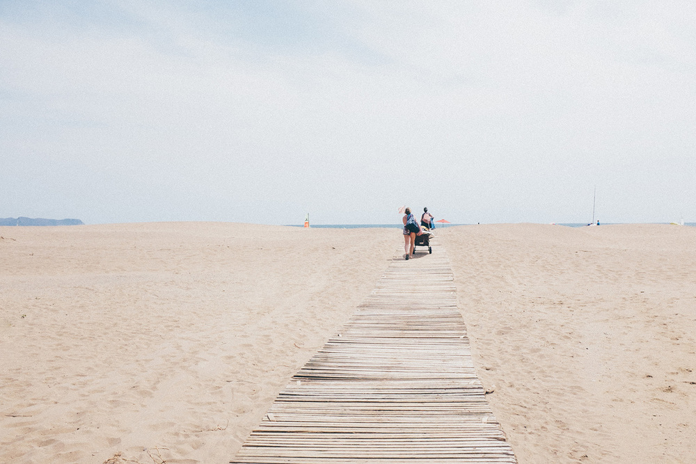 spain travel beach costa brava