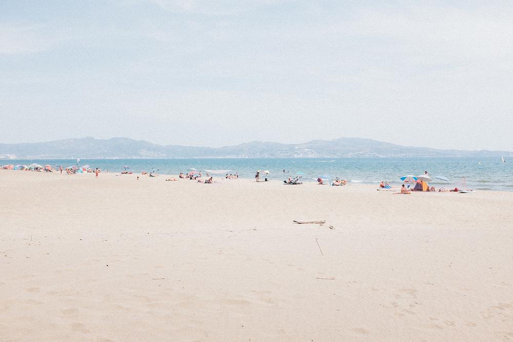 travel summer beach costa brava spain
