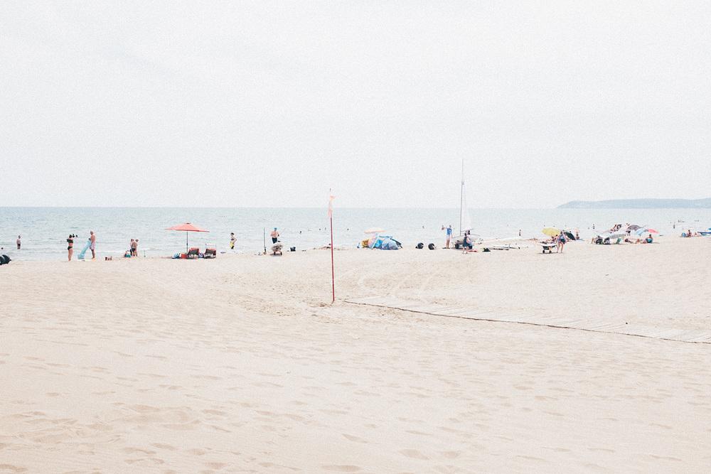 spain summer beach travel costa brava