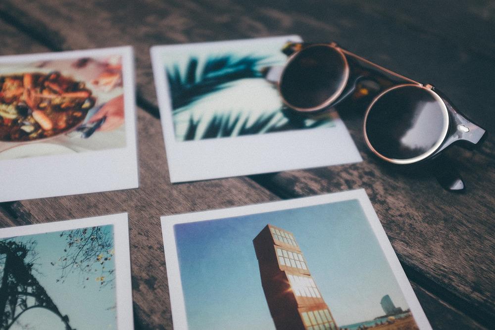 travel postcard barcelona spain