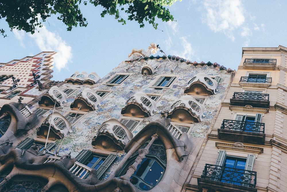 Casa Batlló barcelona gaudi spain