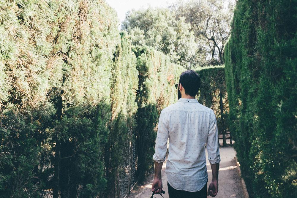parc de labyrinth d'horta barcelona