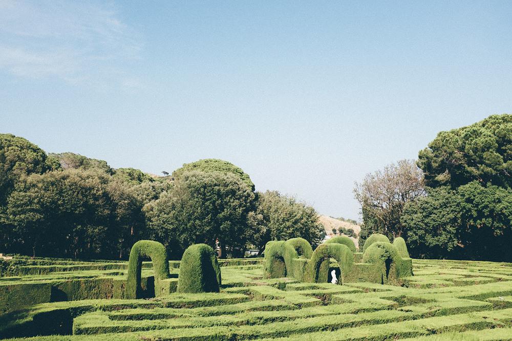 parc de labyrinth d'horta barcelona guide