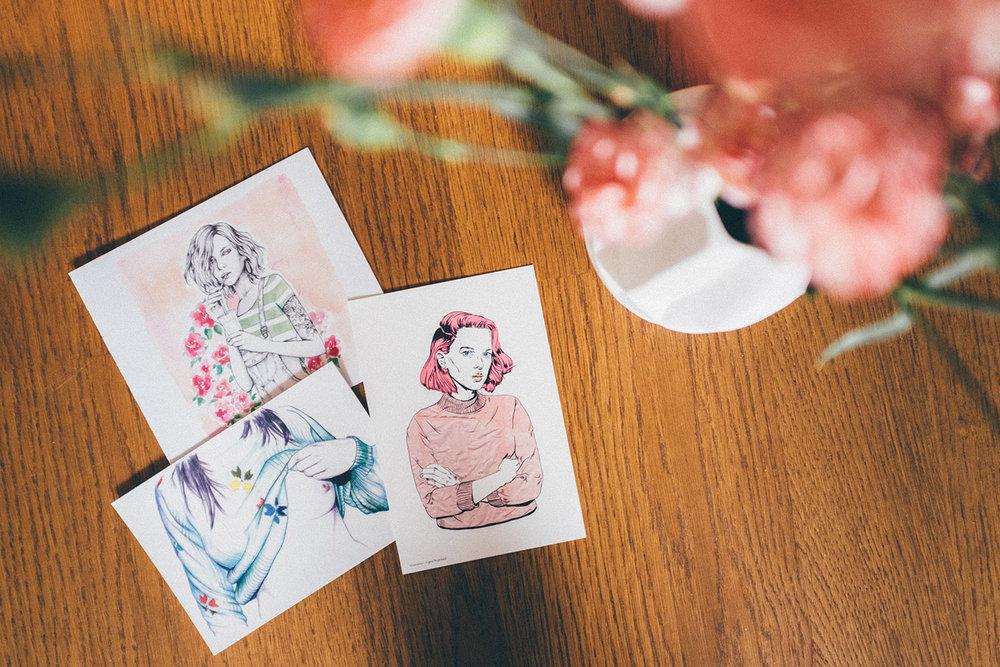 oslo postcard skaperverket home interior girls art