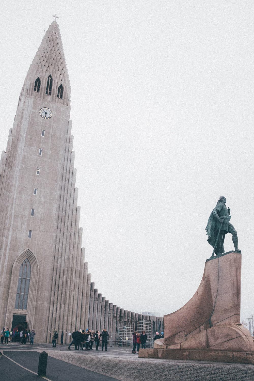 hallgrims kirkja church iceland reykjavik