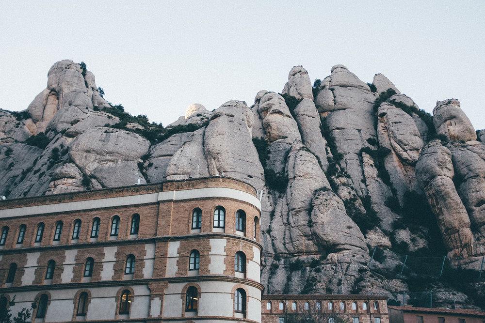 montserrat spain barcelona mountain