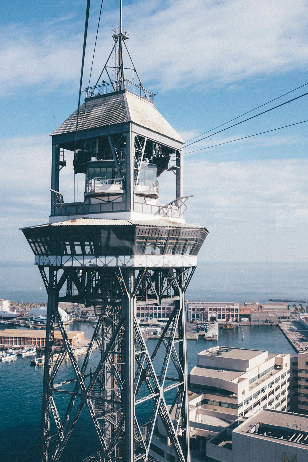 teleferic barcelona spain travel