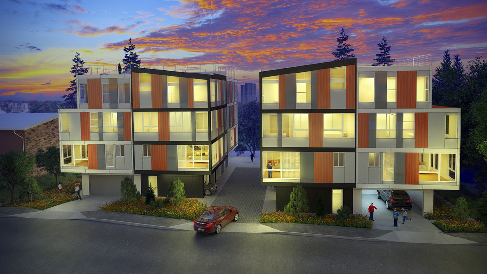 A collection of urban contemporary condos coming to West Bellevue - Fall 2018