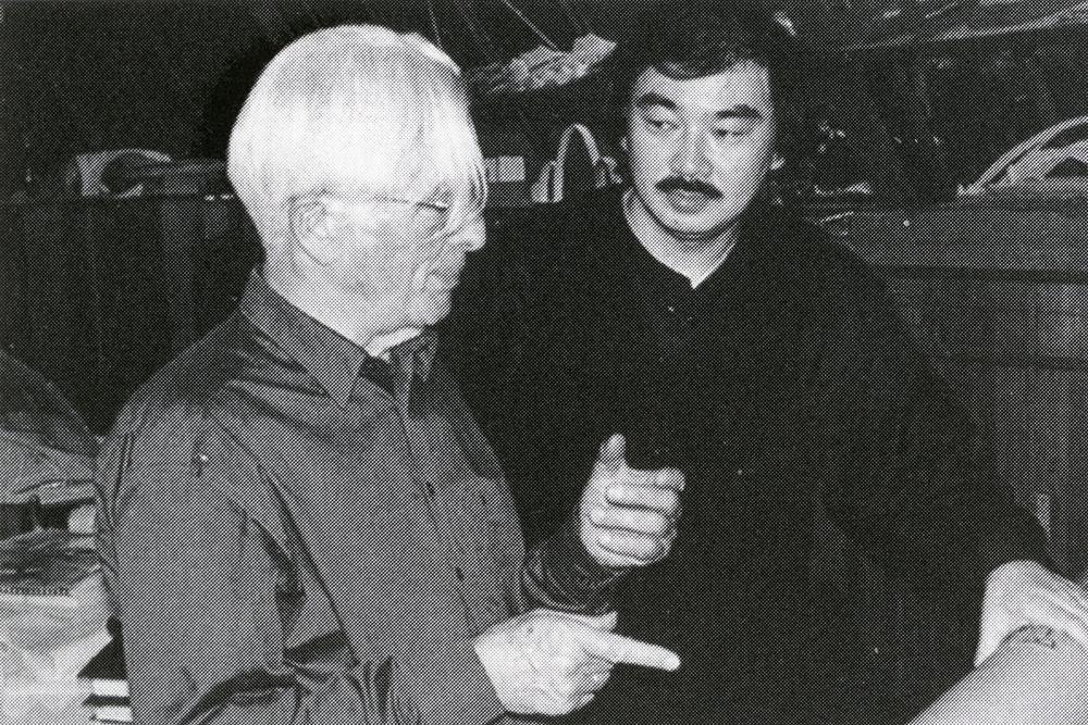Frei Otto and Shigeru Ban