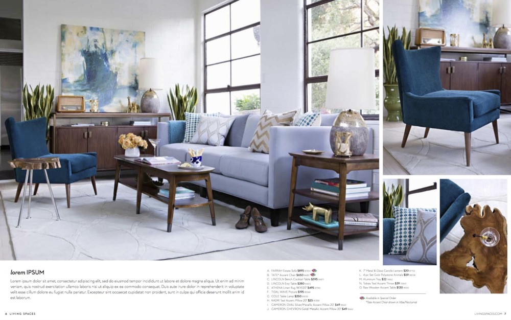 Living Spaces CATALOG