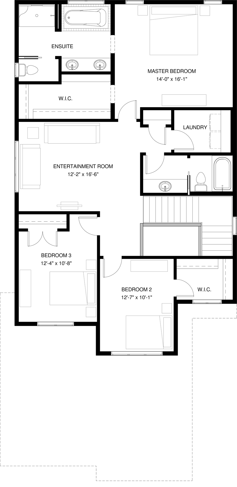 Upper Floor   1309 sq ft