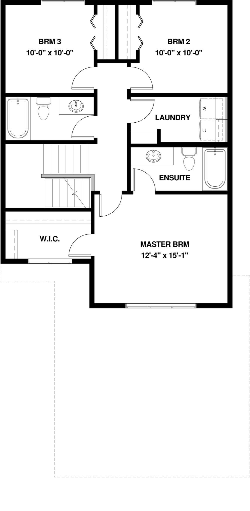 Upper Floor  846 sq ft