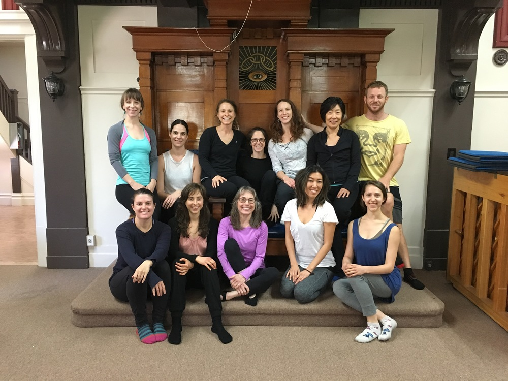 Debra's GYROKINESIS® Foundation Training students