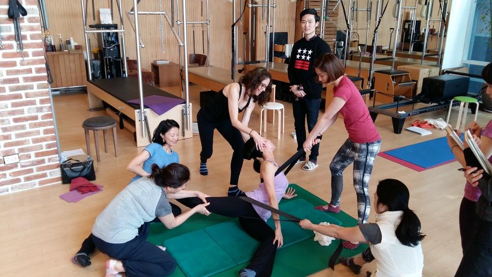 The energy's of GYROKINESIS® in Seoul