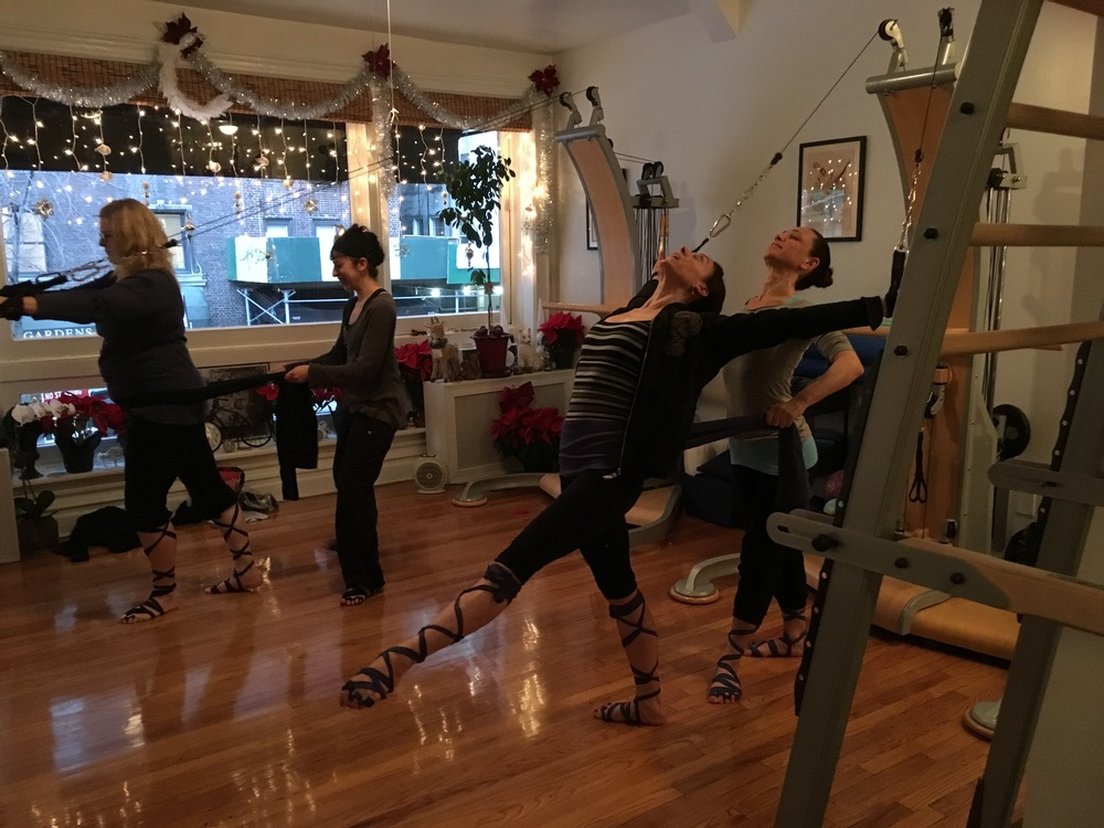 Great energy from this Wrap Workshop group in New York