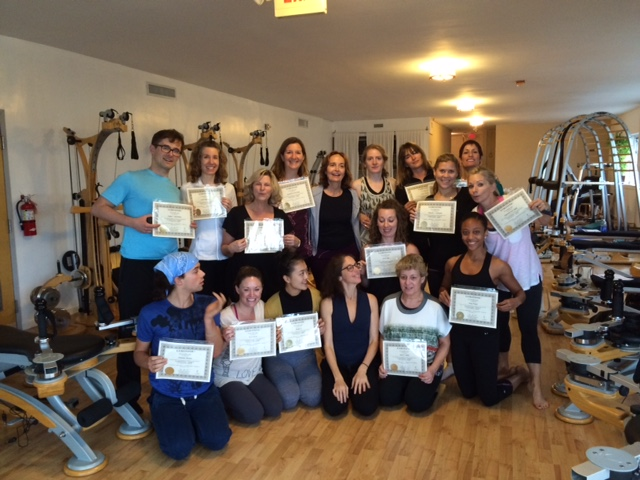 Deb and Final Certification students in Miami