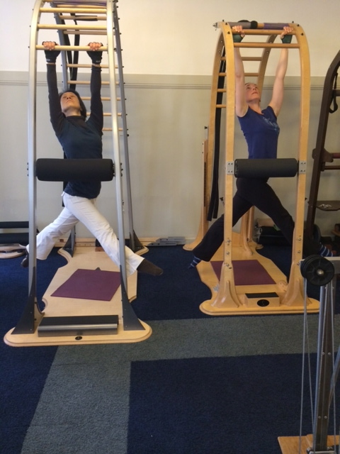 Students practice during the Archway course