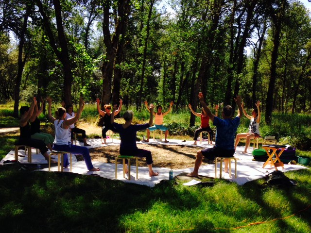Happy Moves course at Nora Heiber's Alls Good Farm